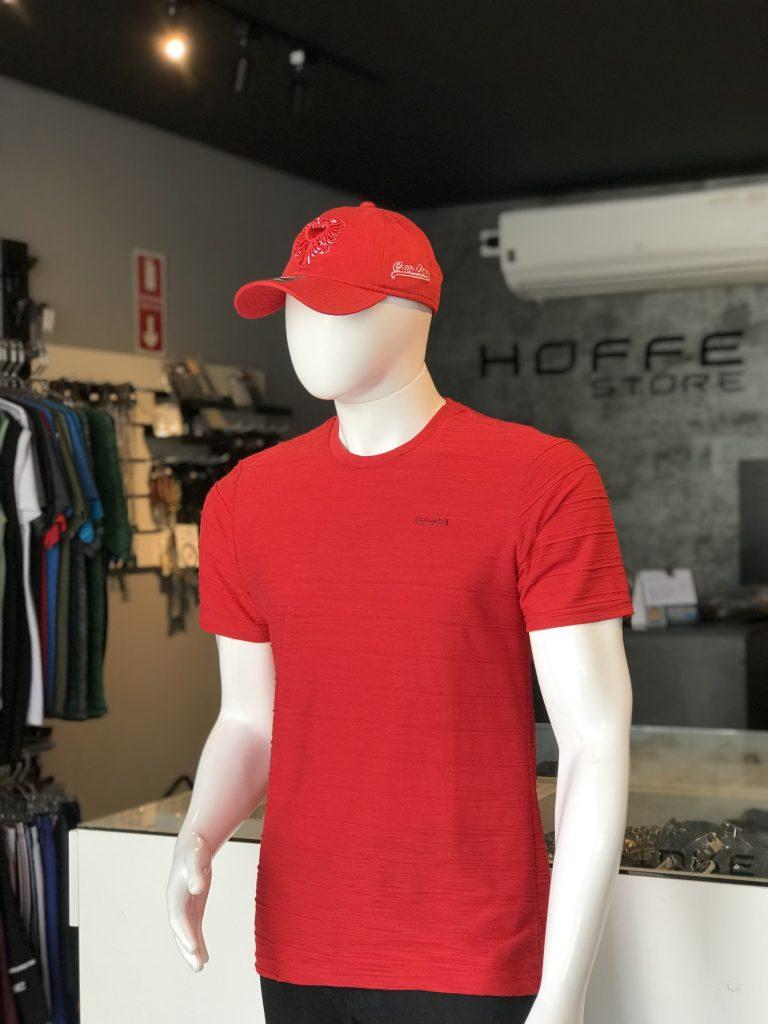 Camisa vermelha com detalhes (APENAS TAMANHO P)