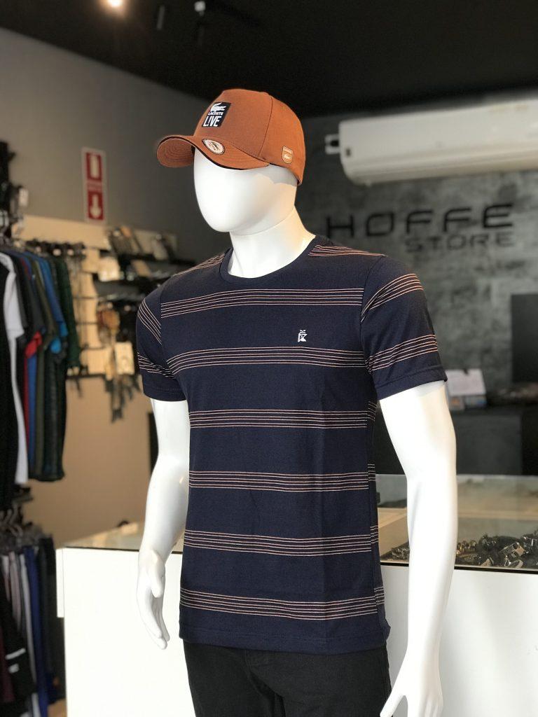 Camisa listrada 100% algodão (APENAS TAMANHO P)