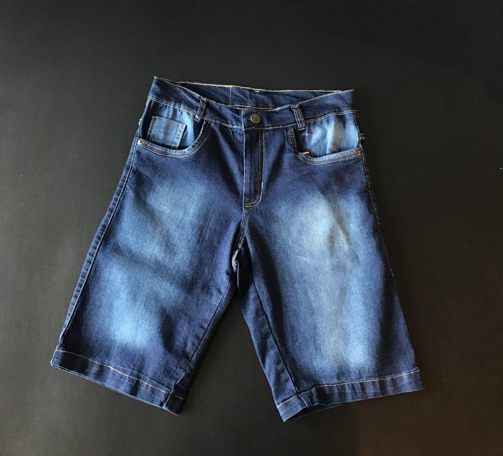 Bermuda jeans lycra