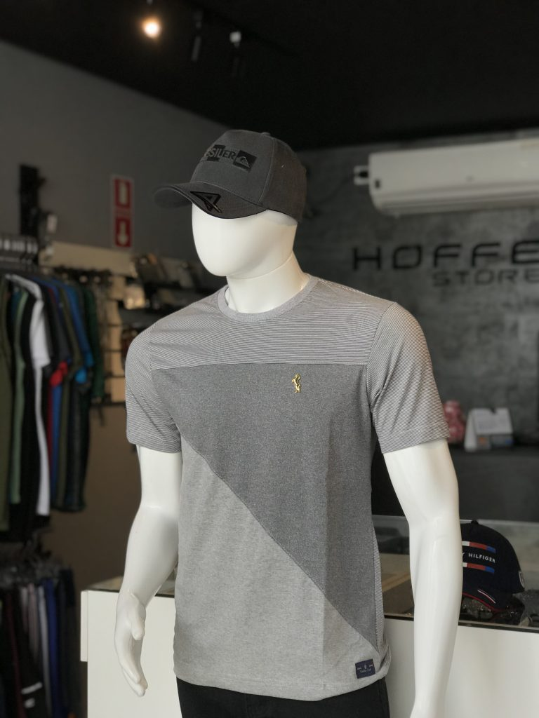 Camisa estampa geométrica