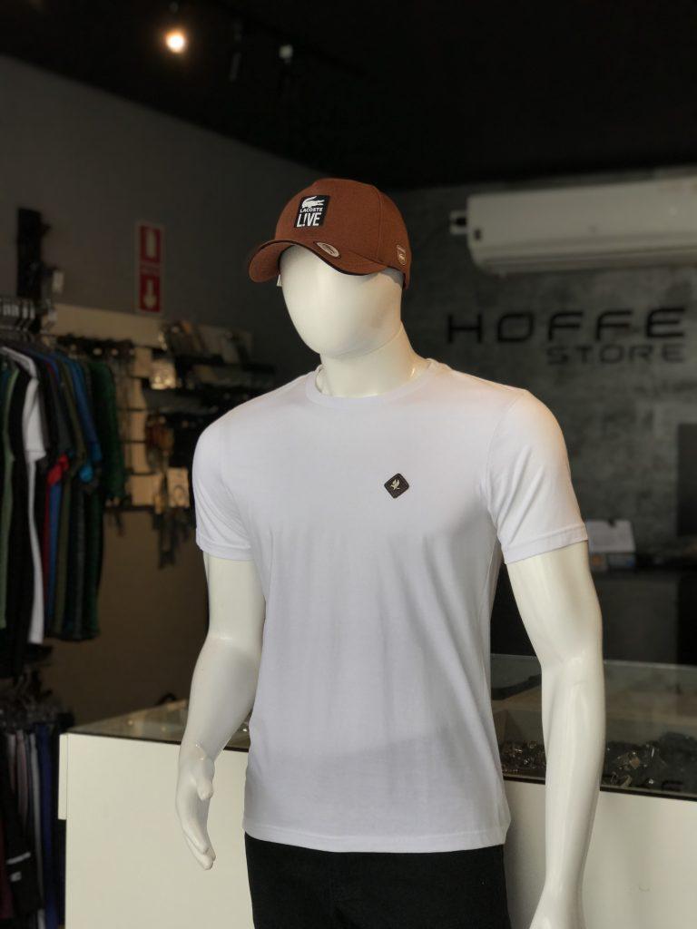 Camisa branca 100% algodão (APENAS TAMANHO P)