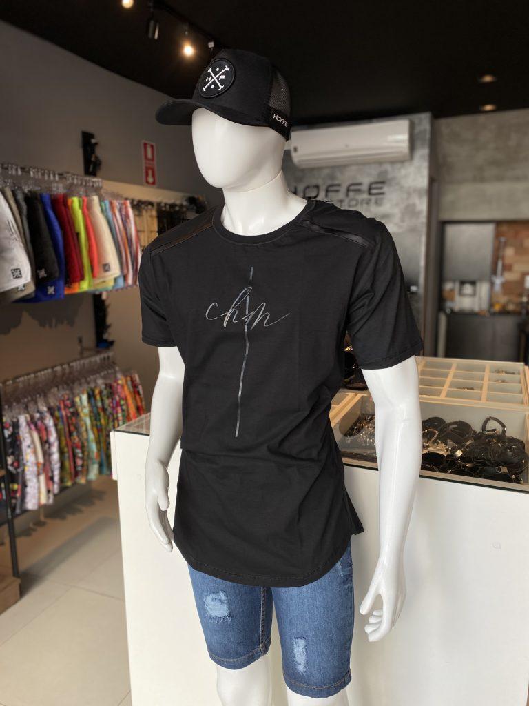 Camisa Longline básica Chami Brand